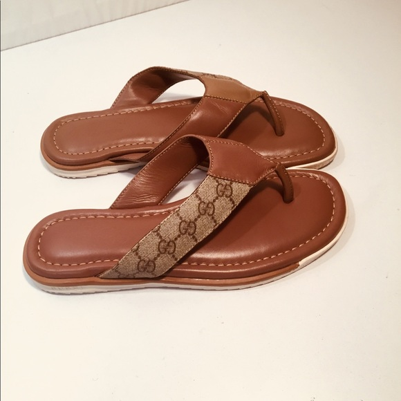 55b4472695e Gucci Other - Gucci Men s Web Thong Sandals Slippers